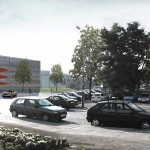 Neubau Parkhaus am Stadion